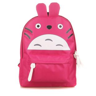 2013 cartoons totoro cartoon backpack fashion backpack chromophous bag student bag