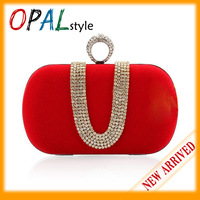 Fashion Women Evening Bag, Classic Rhinestone Clutch bags with Sequin Metal Chain,Party Bags,Retail&Promotion 16*5.5*9cm EB-62