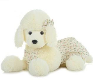 Free ship children/kid/baby pp cotton Stuffed Toy birthday gift doll plush toys Papa Dog Poodle 50cm(China (Mainland))