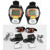 iradio W-008 watch walkie talkie pair children radio PTT with earpiece free shipping