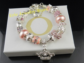 Free Shipping MOQ 1Piece Lady Bracelet Fashion Style High Quality Gift Package (Dust Bag,Gift Box) #PB-88
