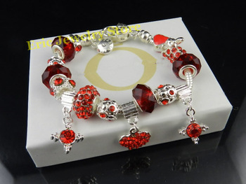 Free Shipping MOQ 1Piece Lady Bracelet Fashion Style High Quality Gift Package (Dust Bag,Gift Box) #PB-78