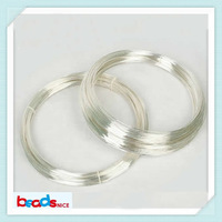 Beadsnice ID26880 Min order is $10 (mix order ) free shipping diy silver findings of 0.3mm round solid 925 sterling silver wire