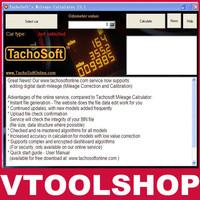 2013 Super new hot promotion price-- Email latest version Tachosoft Mileage Calculator V23.1