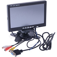 "7"" inch Touch Screen TFT LCD Monitor VGA AV Car for GPS PC 10192"