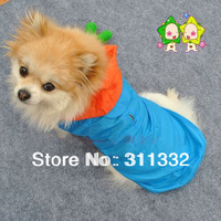 Dog Skirts Pet rainwear poncho Rain cap impermeaveis Pet Dogs Cats Cotton Printed Clothes T Shirt Funny Phrases