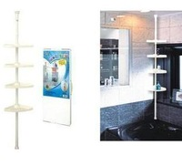 Bathroom corner shelf towel rack shower room shelf
