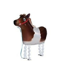 wholsale! 2013 hot walking balloon my own pet Pony farm party decoration baby kids chinlren's birthday Toy & Gift