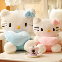 Wholesale free shipping 35CM new design Kitty Cat Figurine hello kitty plush toys gifts for children