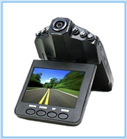 Car DVR Recorder Camera H198 Portable Video Registrator Dash CAM 90 Degree Wide Angle 6 IR LED Night Vision 2.5'' LCD Display