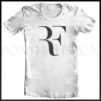 TENNIS ATP ROGER FEDERER RF T-SHIRT T-shirt cotton Lycra top new arrival Fashion Brand t shirt for men 2013 summer