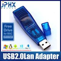 2013 Best selling good design USB2.0 Ethernet Lan network Adapter card