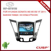 8 inch 2-din ANDROID speical car dvd player supports WIFI, 3G, GPS,Bluetooth,IPOD,SD,USB FOR HYUNDAI SONATA I40 I45 I50 YF 2011-