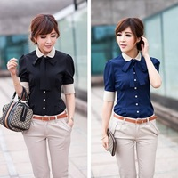 Career shirt  send tie  2013 new Promotions hot trendy cozy women clothes plus size Casual shirt Korean Slim shirt