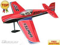 "AL506B Red 4 Channels Sbach 342 - 87""50cc High performance High Quality Aerobatic Airplanes EMS Free Shipping R/C Airplane"