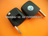 vw remote Key Head case blank only no chip inside 10 pcs a lot