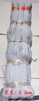 Clothes accessories elastic strap 0.3cm accessories rubber band elastic band elastic strap cow muscle rope