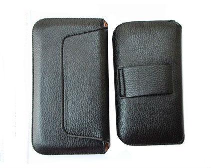 HK Frete Grátis bolsa de couro sacos de telefone casos com cinto para casos jiayu g4 Celular Acessórios de telefone celular(China (Mainland))