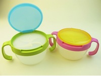 2pcsChild double the handle snack cup biscuits candy snack cans bpa free shopping 2015 baby like Edible safety Dinnerware babies