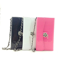 Free Shipping  2013! New arrival amante flower diamond handbag for samsung Galaxy i9500