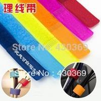 Wide 2cm Magic line Cable winder Earphone bobbin winder/cut line machine/line strap/line bundle/Fashion GiftWholesale