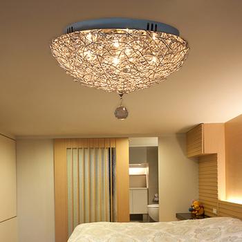 ceiling light modern fashion crystal lamps living room. Black Bedroom Furniture Sets. Home Design Ideas