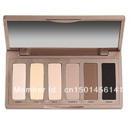 Free Shipping  2013 new hot sell BASICS 6 color EYESHADOW / EYE SHADOW palette (1 pcs)