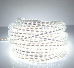 LED lights 72pcs/m 5m/lot free shipping bright 5050 SMD 220V cove lights with super bright LED flexible strip led strip white(China (Mainland))