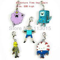 Adventure Time key chain keychains 5pcs/lot  free shipling K0597