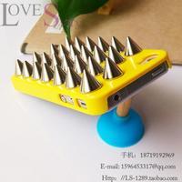 50pcs 1.4cm copper rivet without phone case \ free shipping