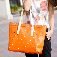 Sweet 2013 laciness women's handbag vintage fashion cutout formal handbag shoulder bag big bags