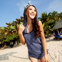 Swimwear fresh fashion triangle bikini swimwear g20016 bandage bikini
