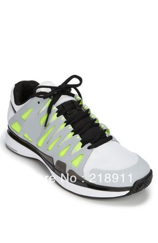 Free shipping! Hot sale! Wholesale best tennis shoes, Roger Federer #9 fashion running sports men tennis air Shoes. Size:40-45
