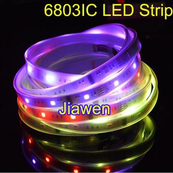 15m 5m/Roll 6803 IC 5050 RGB Strip waterproof 150LED IP67 tube dream magic color digital 12V Led Strip light 30led/Meter