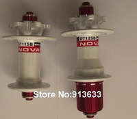 Hot Selling B124432,B124433 Novatec D711SB+D712SB MTB 32 Holes White Hub Front+Rear Free Shipping