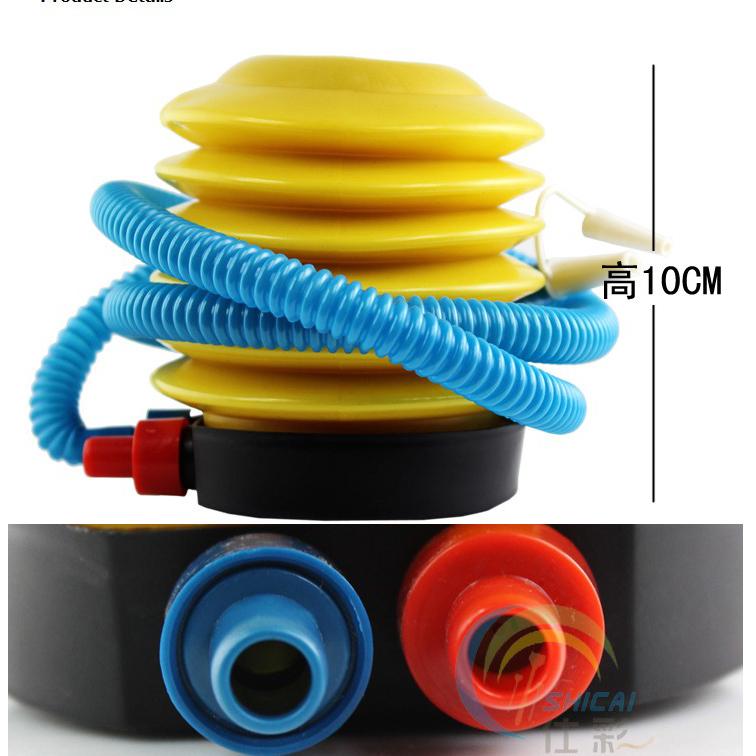 Inflatable Foot Air Pump For Balloon Swimming Ring Air Pillow 86g Dropshipping(China (Mainland))