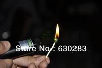 2013 Free Shipping wholesale&retail 1pcs Green LASER Pointer of 5000 MW Laser Pen adjustable burn match