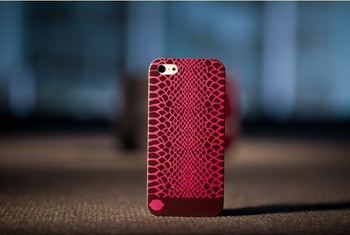 Luxury Brand Design Red Snake Skin items Case For Iphone 5 hot selling Cover Accessories special gifts