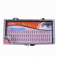 Free shipping 10box/lot 10 in a eyelash planting false eyelash/