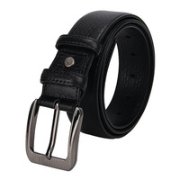 Kuailelaotou male pin buckle black strap fashion casual commercial belt 10le28-1