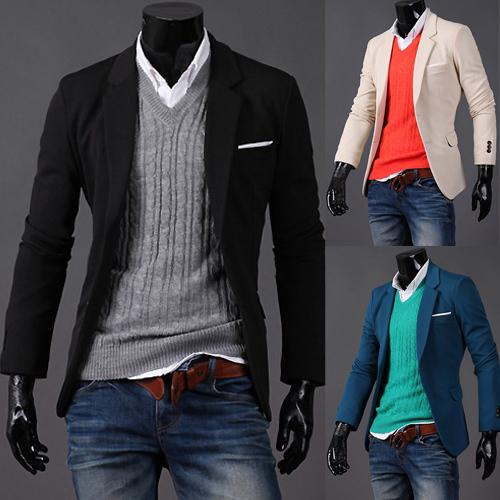 Fashion Men Casual 2013 Casual Fashion Slim Men