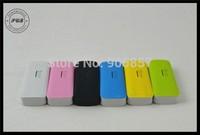 Free shipping High Capacity LED light 5200mAh Portable Charger Power Bank External Battery For iPhone/ipad/sunsung/nokia