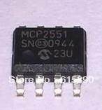 Free Shipping 10PCS MCP2551-I/SN MCP2551 SOIC8 MICROCHIP MCP2551I MCP25511 mcp2551sn
