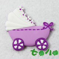 Quality cartoon Refrigerator stickers magnets magnet toy purple dream baby car  Free Shipping wholesale