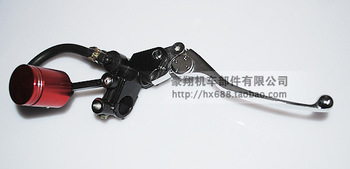 Performance Adjustable Pump Brake Handle For ATV,Dirt Bike,Motorcycle And Street Pocket Bike,Free Shipping