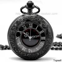 Dial:45mm Roman dual display gift antique pocket watch pocket watch retro quartz machinery for men and women