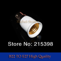 10pcs LED lamp B22 to E27 Base  socket LED Light Lamp Bulb Adapter [4266|01|01]