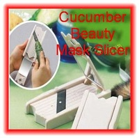 New arrival tape skin beauty mirror cucumber beauty slicer cucumber slicer cucumber slices mask beauty knife free shipping