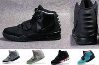 2013 new air Yeezy 2 blackout Rerto kanye west scales cut mens basketball shoes of the highest quality men shoes free shipping