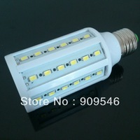 10pcs/lot Ultra Bright led Corn Bulb E27/B22/E14 15w 60leds 5730 SMD 1500LM Light bulb Lamp 220-240V
